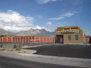 A+ East Mesa Self Storage is the only facility around the area that has a kiosk � giving them a competitive advantage through added customer convenience.