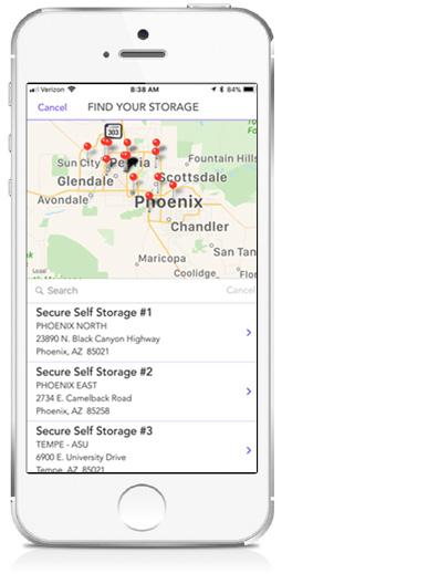 Storage Genie Mobile App