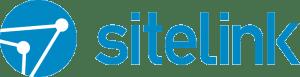 SiteLink Logo Blue white fill RGB 800x204