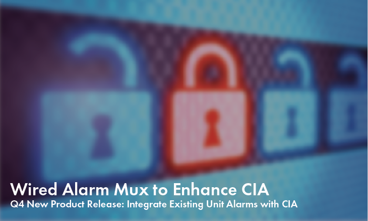 Wired Alarm Mux To Enhance CIA