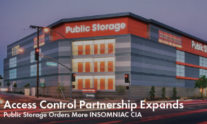 Public Storage Orders More INSOMNIAC CIA