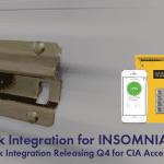 DaVinci Lock Integration with INSOMNIAC CIA
