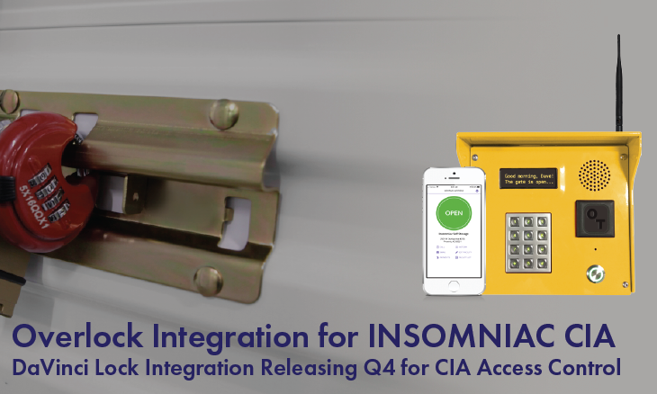 OpenTech Adds Overlock Solution to INSOMNIAC CIA Access Control