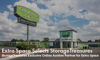 Extra Space Selects StorageTreasures.com as Exclusive Online Auction Partner