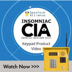 INSOMNIAC CIA Keypad
