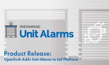 IoE Integration Unit Alarms