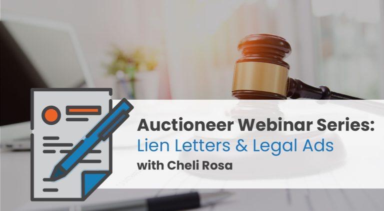 Lien Letters & Legal Ads