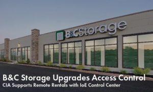 B&C Storage Store Front