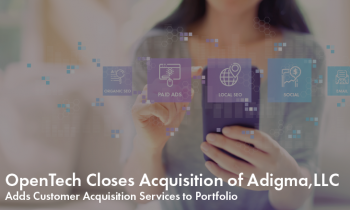 OpenTech Closes Acquisition of Adigma